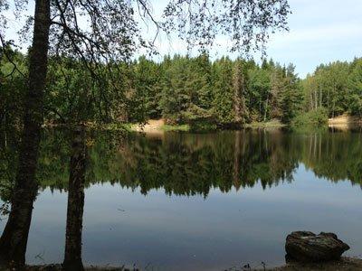 Trollsjön etapp 7 Sörmlandsleden