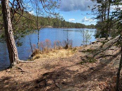 Fin fikaplats vid Årsjön