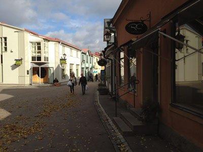 RC är ett trevligt fik på Stora gatan i Sigtuna om man gillar choklad!