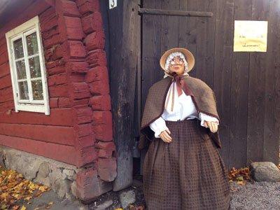 Tant Brun är ett gamalt mysigt fik i Sigtuna på Stora gatan.