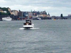 Skärgårdsbåtar i Stockholm går från Strömkajen, Strandvägen och ibland Slussen.