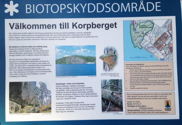 Korpberget biotopskyddsområde