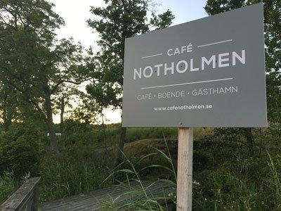 Cafe notholmen