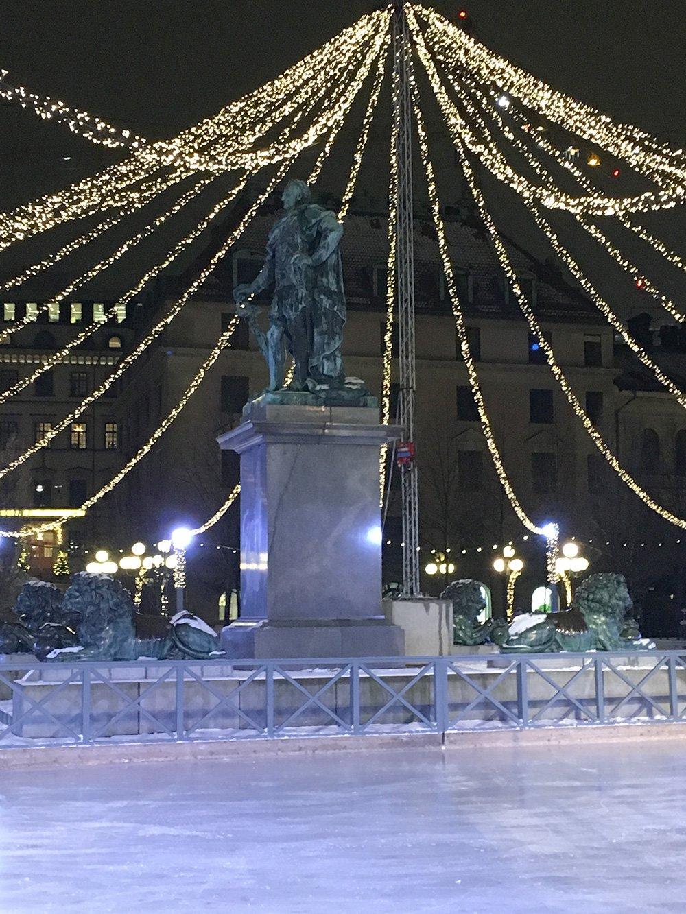 Karl XIII:s staty, Erik Gustaf Göthe,Kungsträdgården