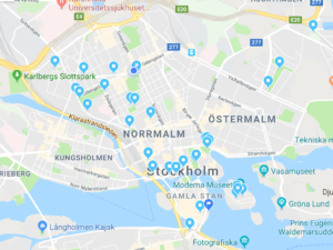 Statyer i Stockholm