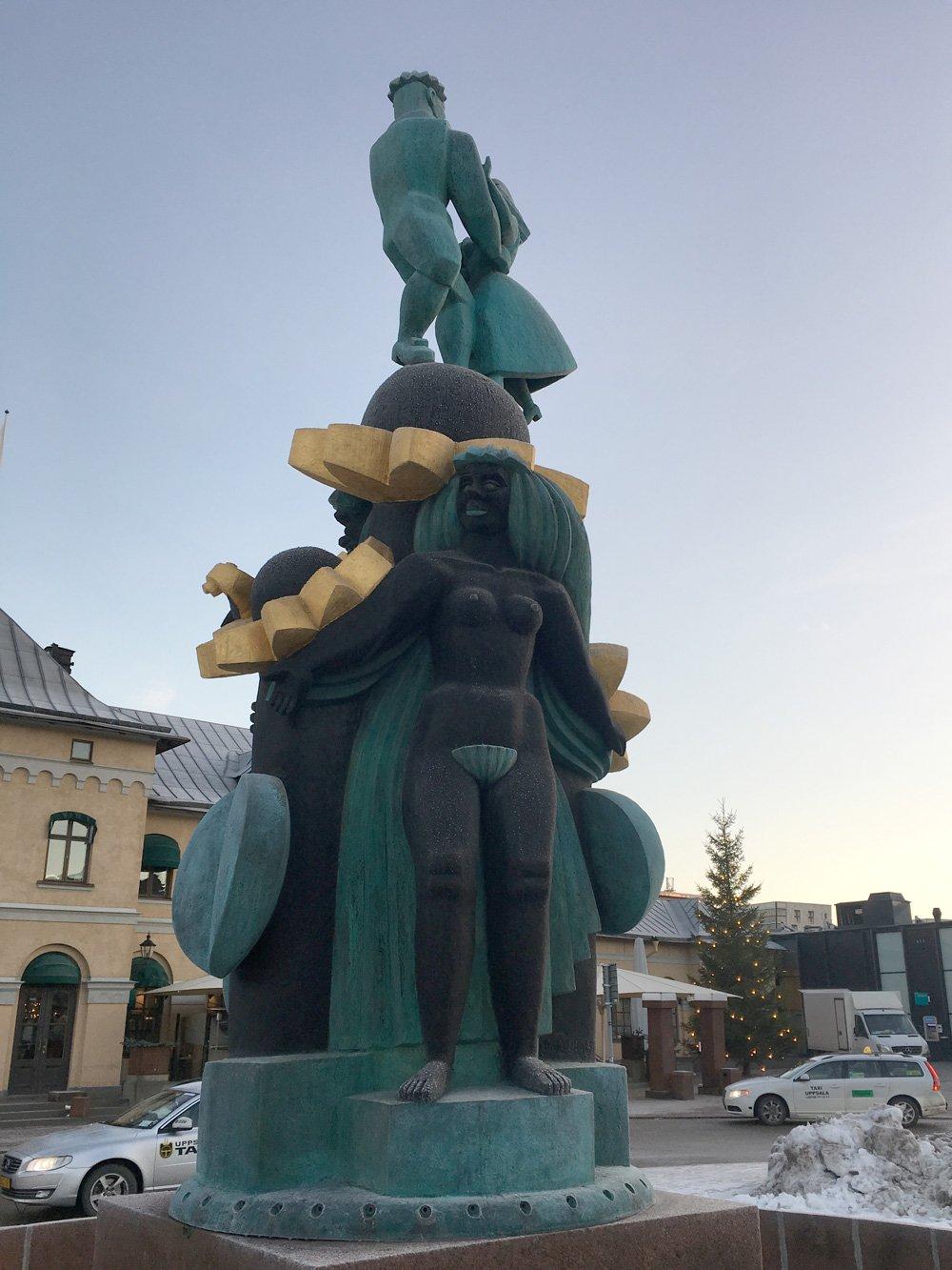 Staty uppsala station