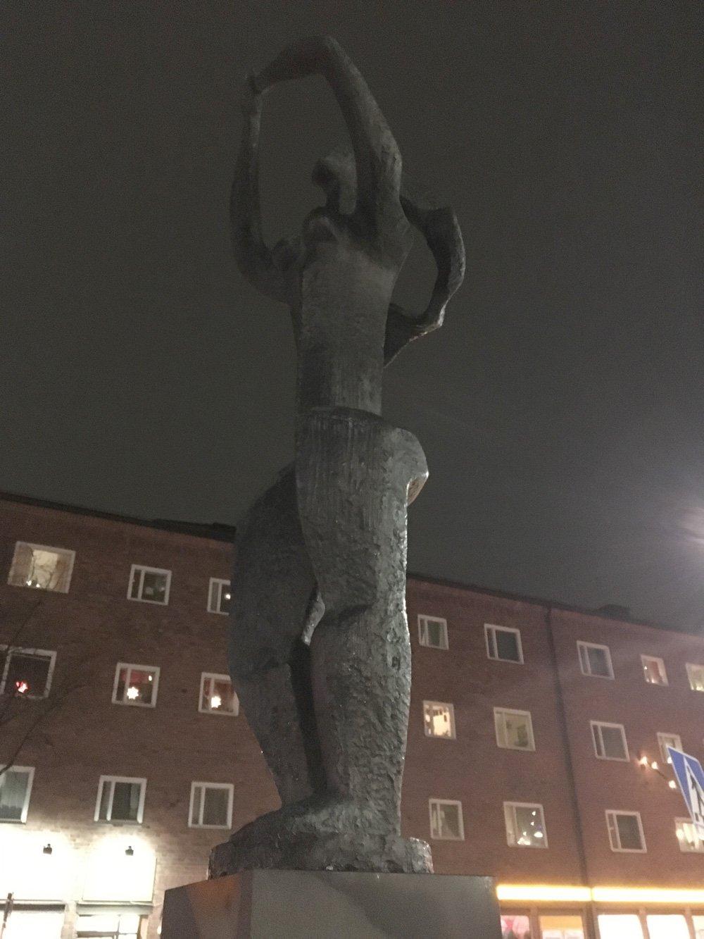 Trädet, Erik Grate, Västertorp