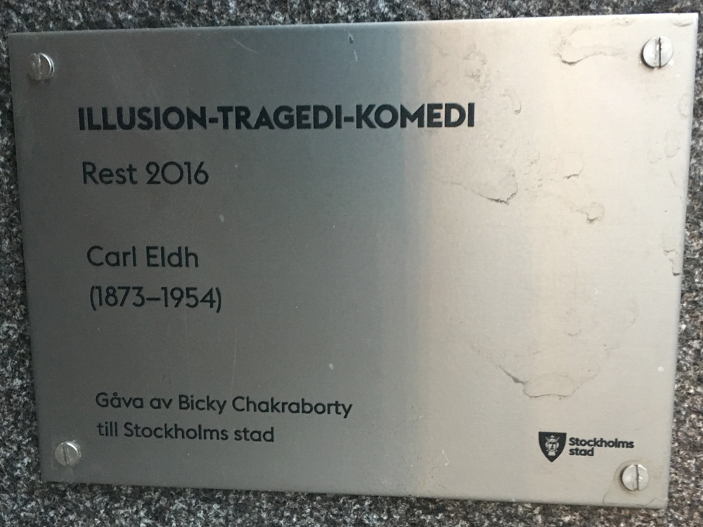 Illusion-Tragedi-Komedi, Carl Eldh, St Eriksgatan
