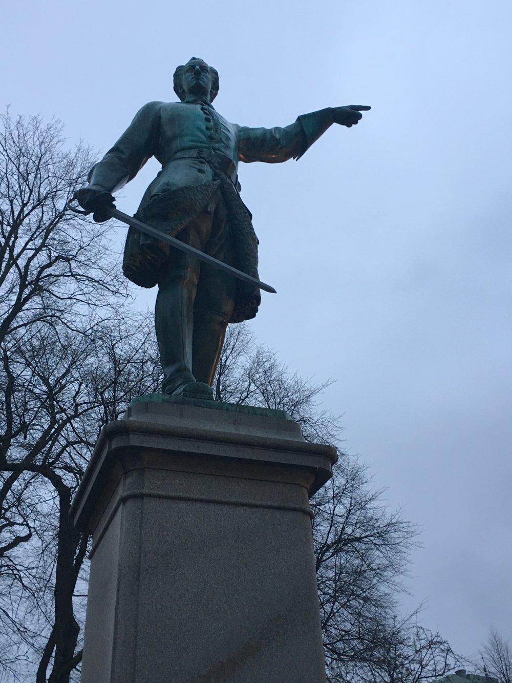 Karl XII, Johan Peter Molin, Karl XII torg, Stockholm city