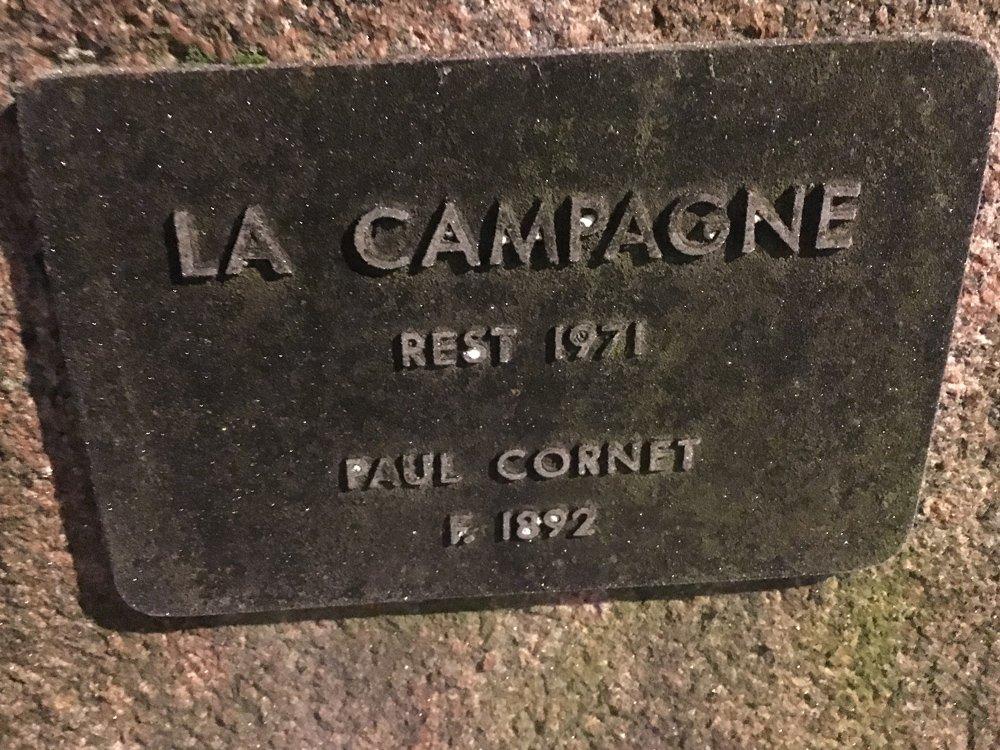 La Campagne, Paul Cornet, Karlavägen