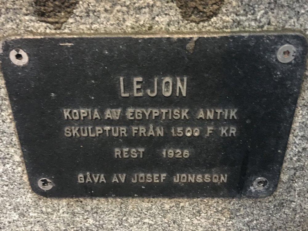 Lejon, Riksbron, Stockholm city