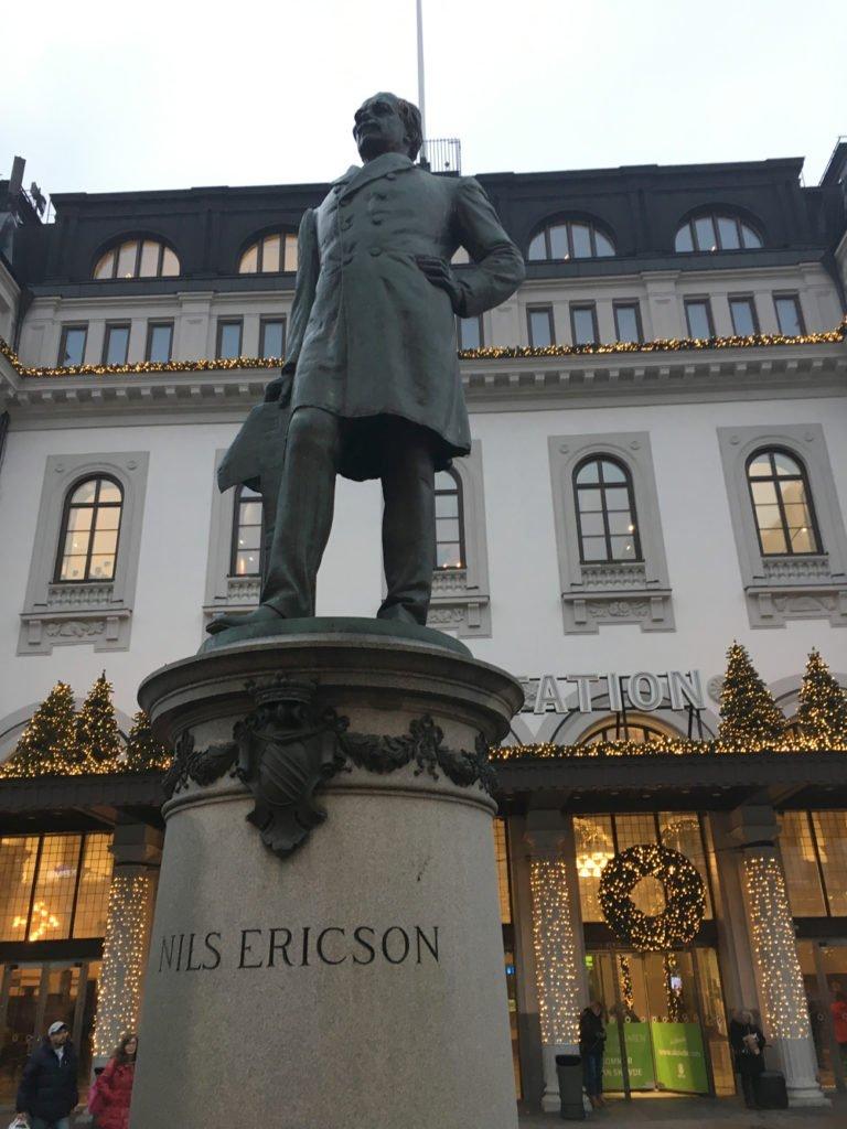 Nils Ericson, John Börjeson, Centralstationen Stockholm