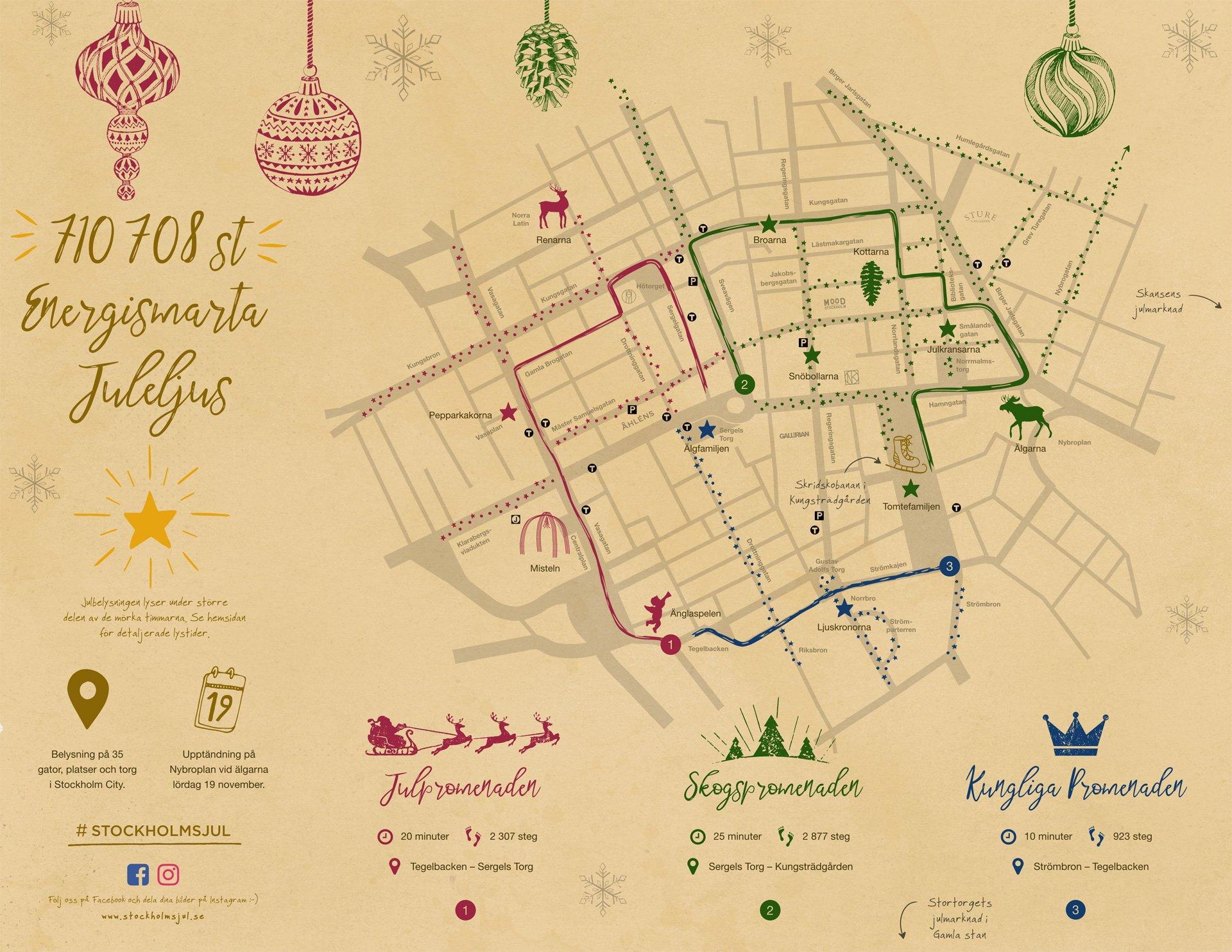 Stockholms jul ljuskarta