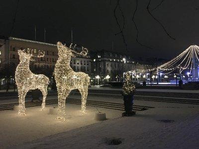 Stockholmsjul, vackra dekorationer