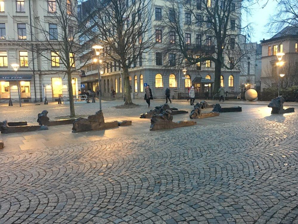 Till Raoul Wallenberg, Kirsten Ortwed, Berzelius parken
