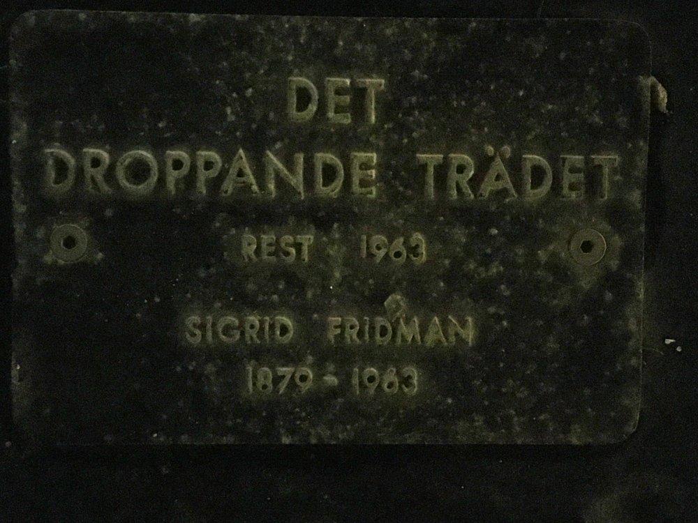 Det droppande trädet, Sigrid Fridman, Norrmalm