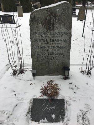 Ingrid Bergmans grav.