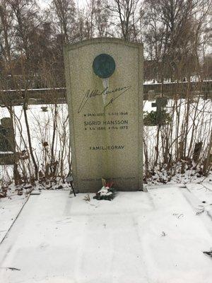 Per Albin Hanssons grav.