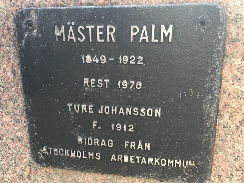 Mäster Palm, Ture Johansson, Norrmalm