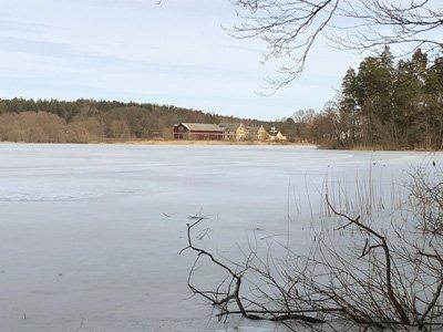 Aspen sjö och Hågelby gård