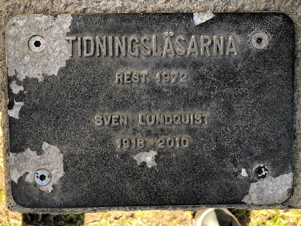 Tidningsläsarna, Sven Lundqvist, Kungsholmen