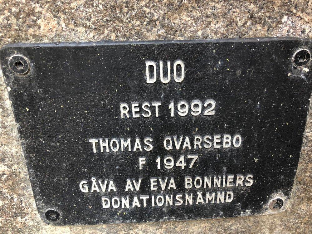 Duo, Thomas Qvarsebo, Södermalm