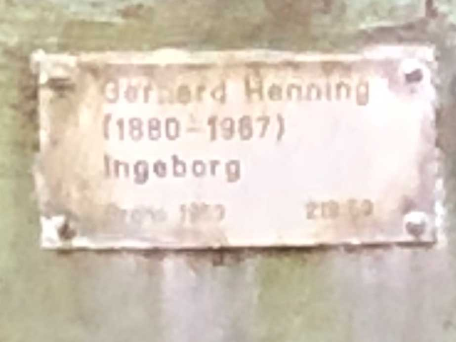 Ingeborg, Gerhard Henning, Hantverkargatan, Kungsholmen