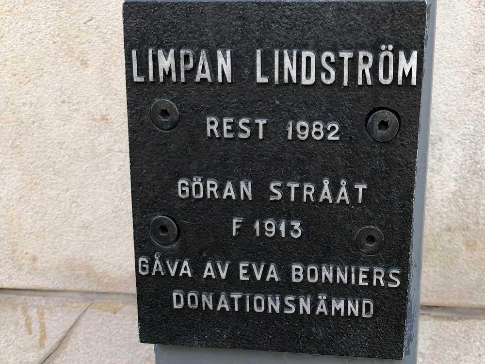 Limpan Lindström, Göran Strååt, Sergelgatan, Norrmalm