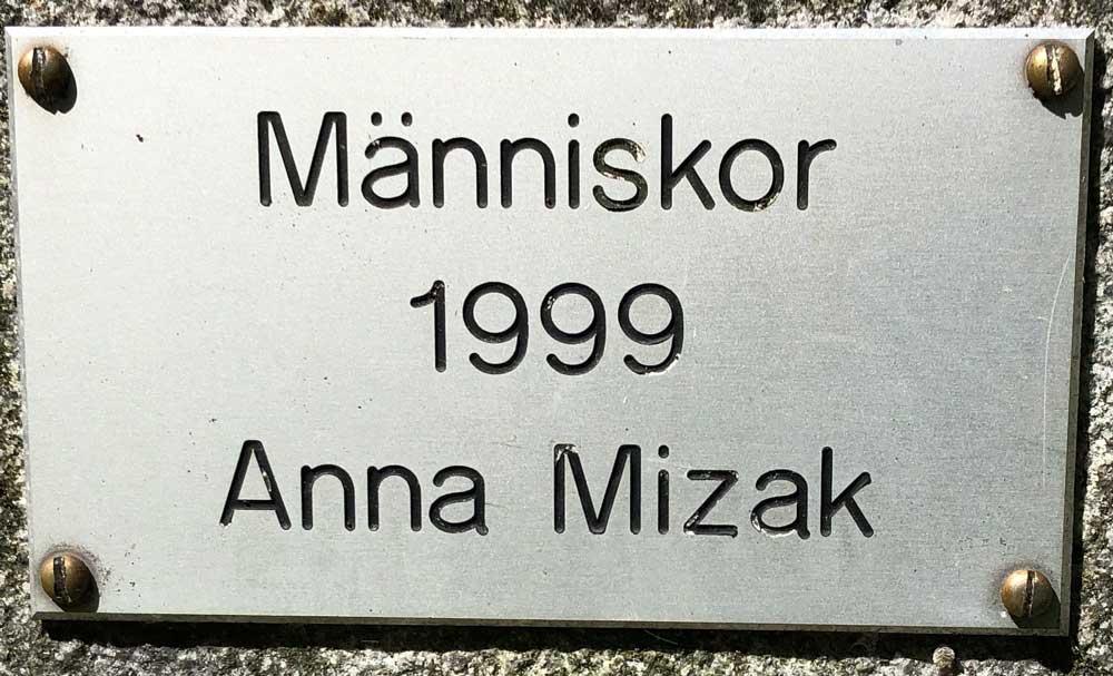 Människor, Anna Mizak, Grubbensparken, Kungsholmen