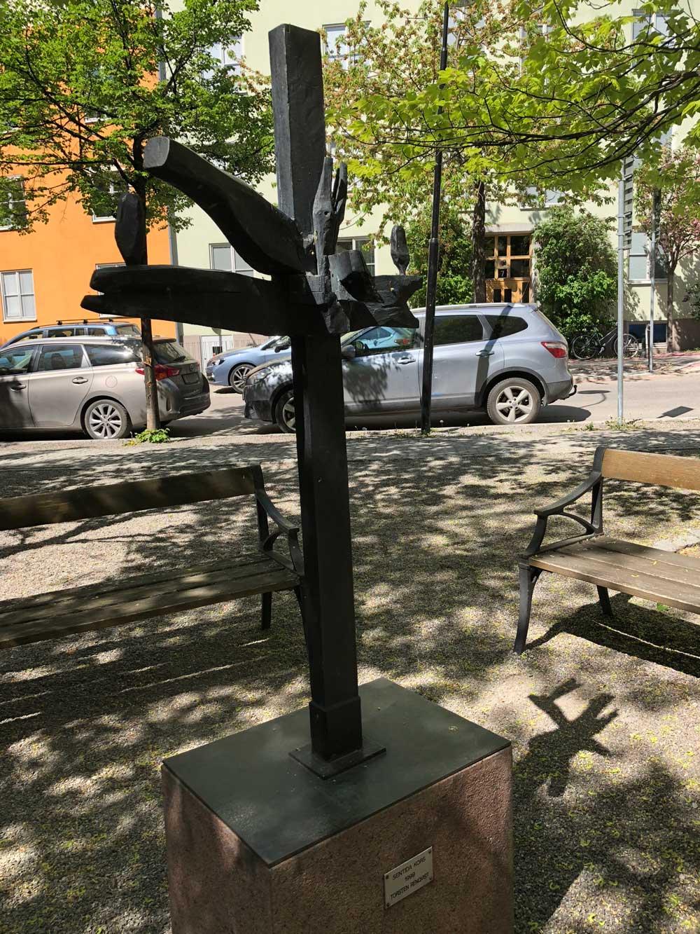 Sentida kors, Torsten Renqvist, Grubbensringen, Kungsholmen