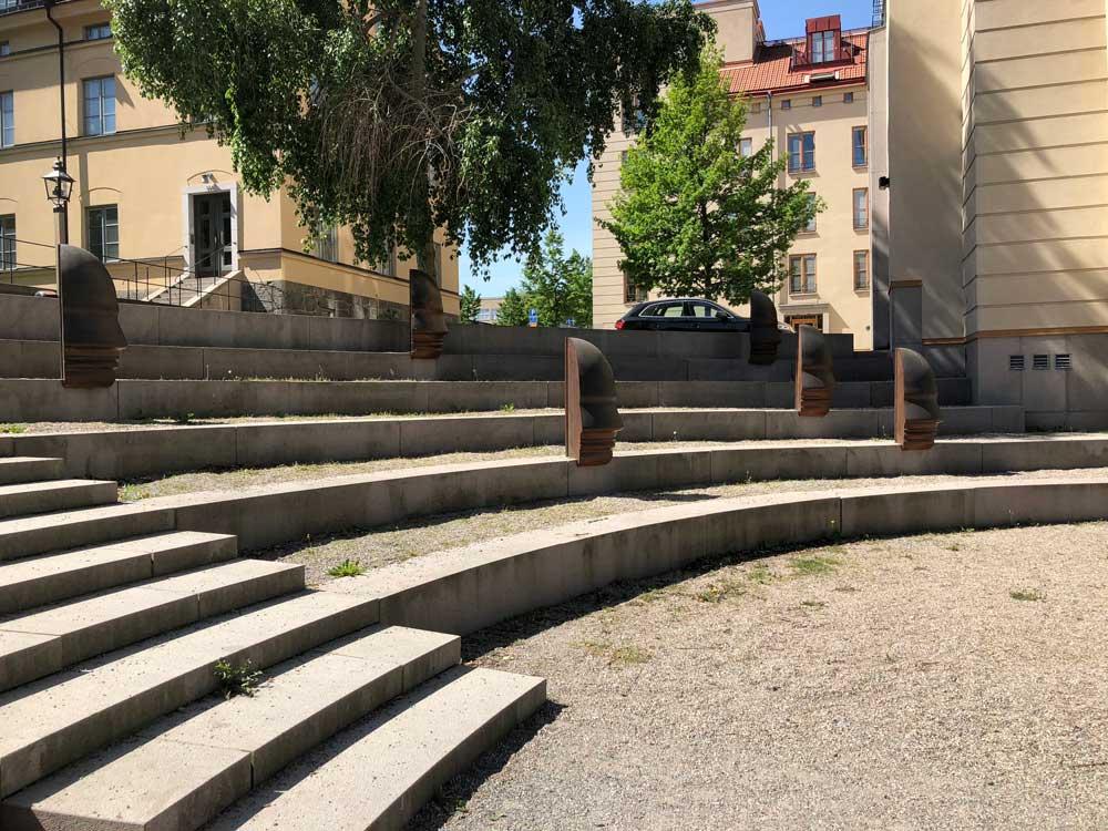 Skådespel, Sivert Lindblom, Grubbens trappor, Kungsholmen
