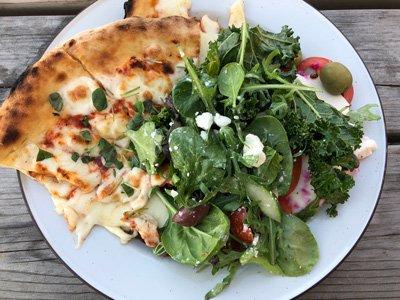 Delibruket flatbread pizza