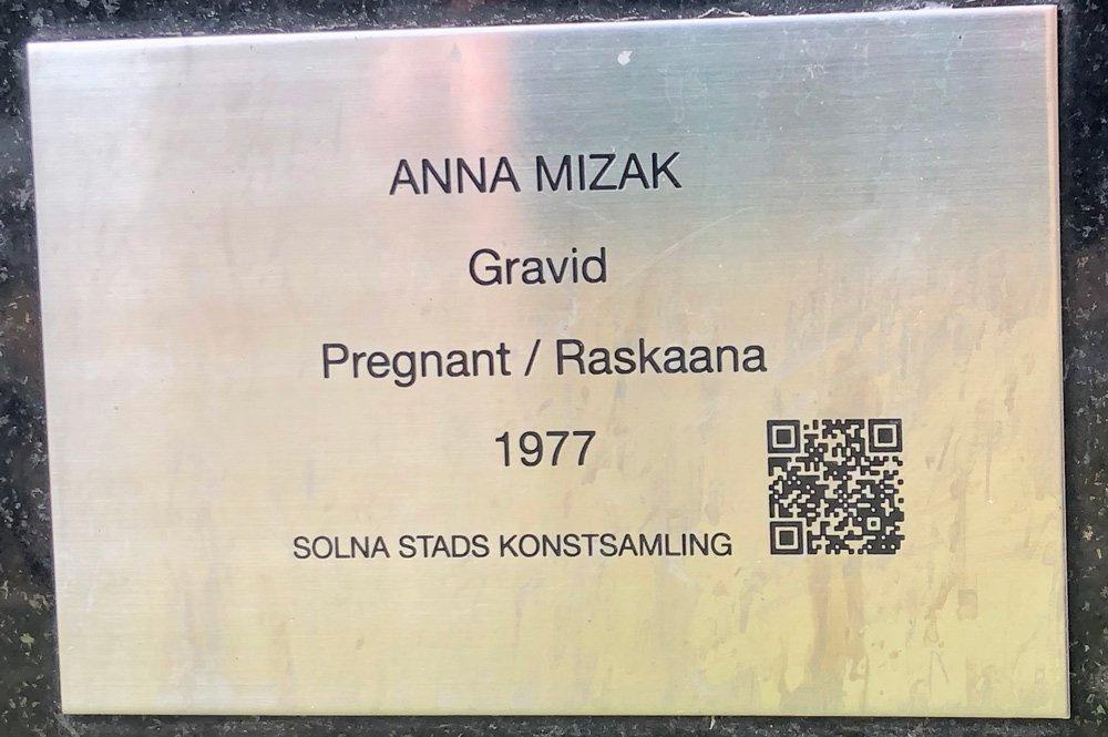 Gravid, Anna Mizak, Skytteholm, Solna