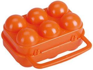 Ägghållare för camping och kajak
