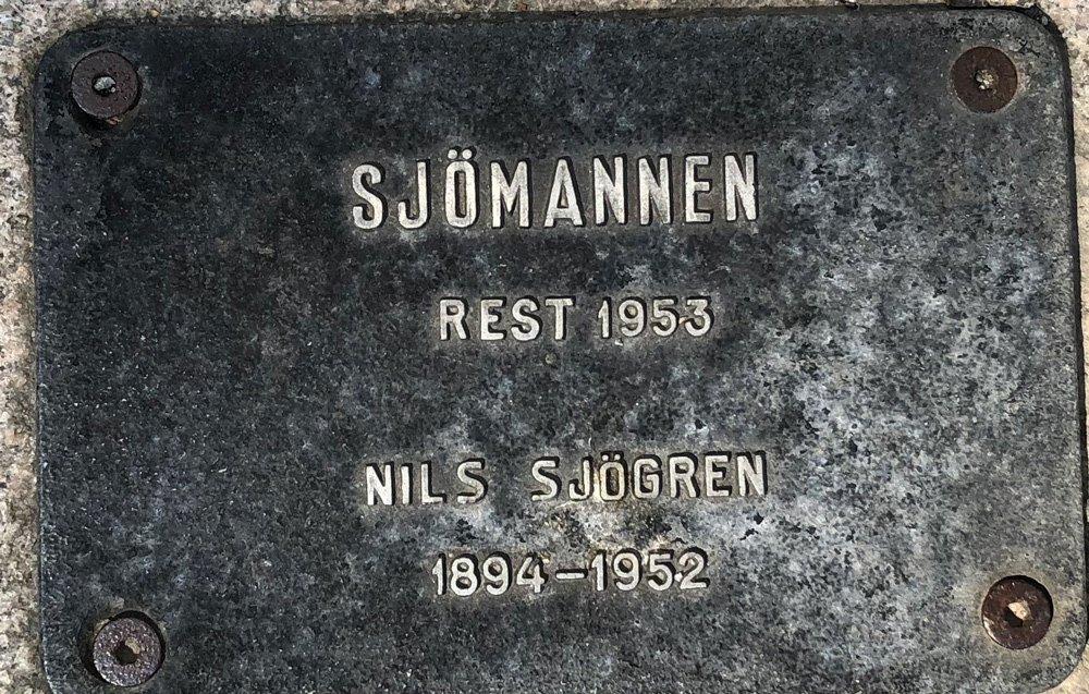 Sjömannen, Nils Sjögren, Sjöhistoriska museet