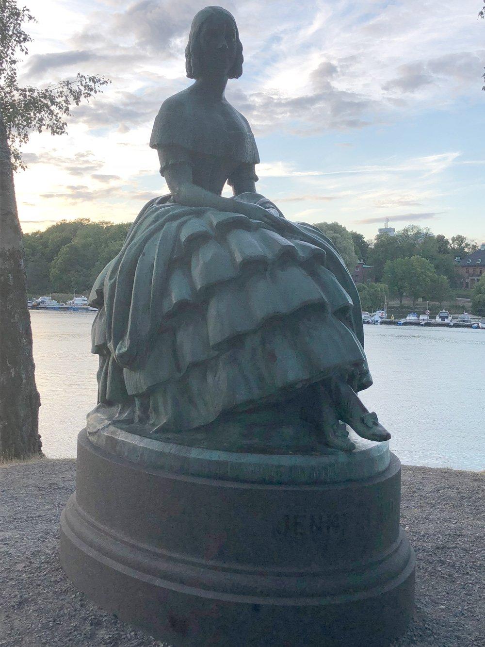 Jenny Lind, Eric Rafael-Rådberg, Djurgården