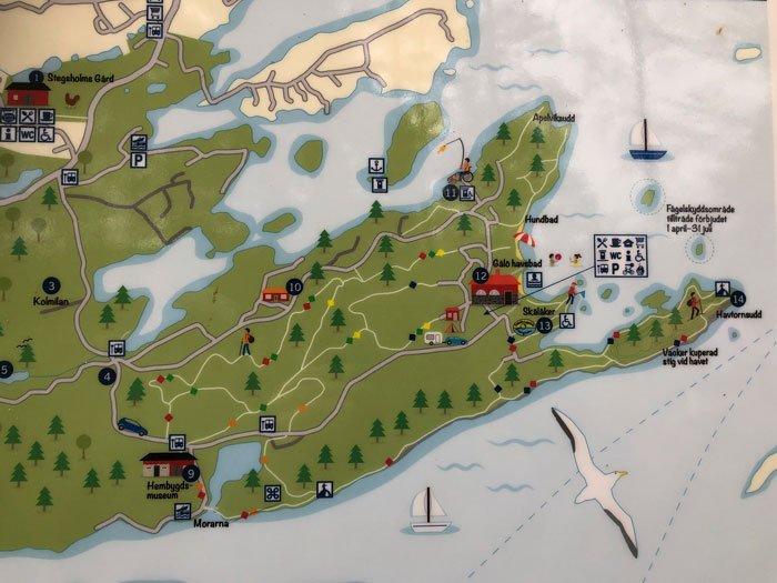 Stora gålöslingan karta