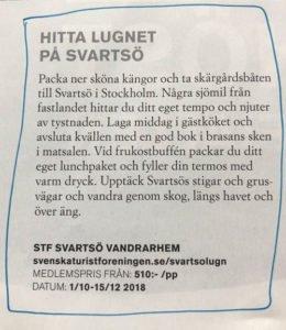 Svartsö vandrarhem Svenska turistföreningen