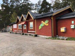 Handelsbod Svartsö.
