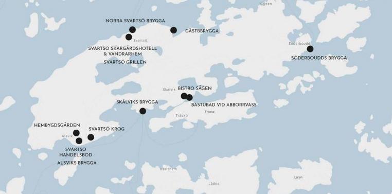 Karta Svartsö