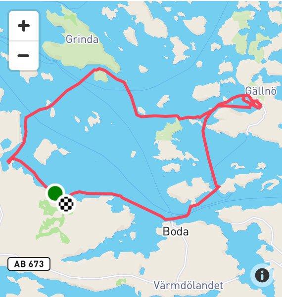 Norråva Gällnö paddling