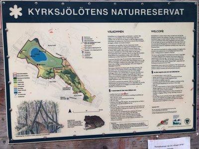 Kyrklötens naturreservat.
