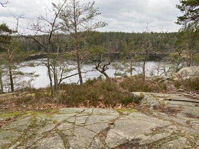 Utsikt över Ulvsjön