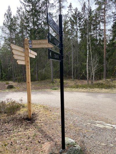 2 km kvar till Björkhagen