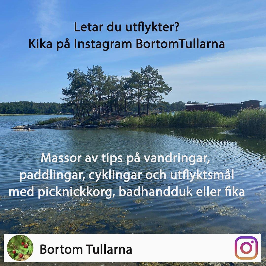 Följ BortomTullarna på instagram och få utflyktstips