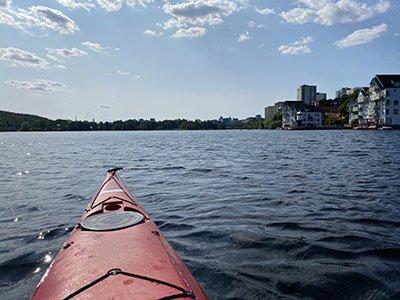 Järlasjön paddling