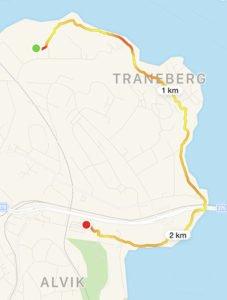 Promenad Alvik, traneberg och Minneberg