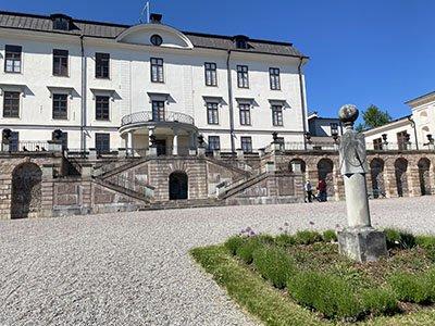 Rosergsbergs slott på baksidan