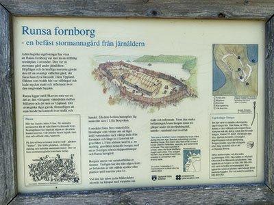 Information om Runsa borg