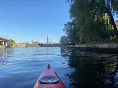 Kungsholmen runt i kajak